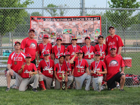 The Northern IL Reds 11U wins 2013 Reds Rumble Tournament