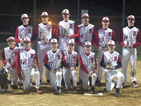 14U Reds Black takes second on Reds Rumble