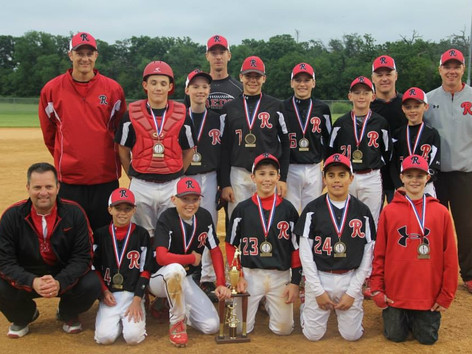 The Northern IL Reds 12U Red wins 2013 Reds Rumble Tournament