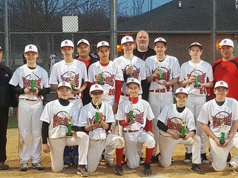 Youth Baseball - Northern IL Reds 14U