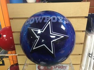 Cowboys Bowling Ball