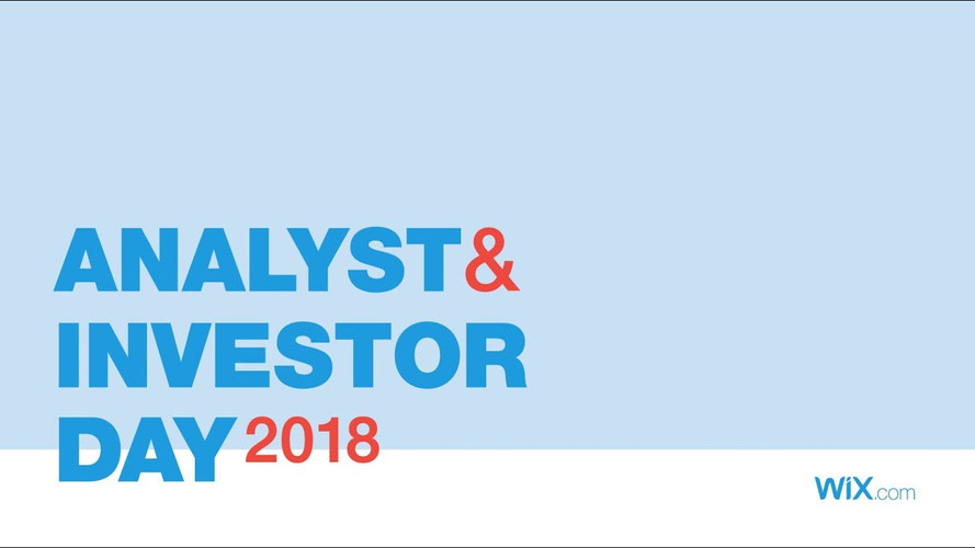 Analyst and Investor Day 2018