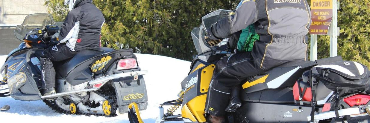 place to stay just off snowmobile trail b108