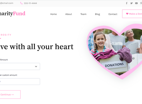 Create a donation Form with Fixed or Custom Amount using Wix Pay API