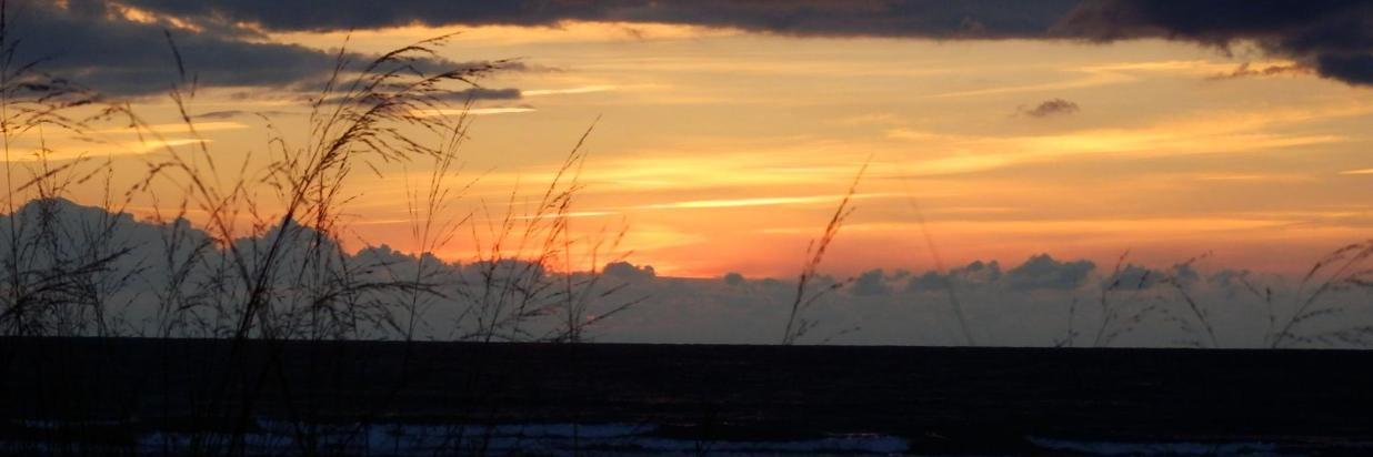 Sauble Beach sunsets near Sauble Falls.j