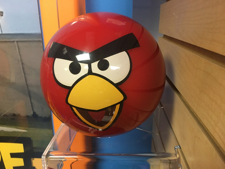 Angry Birds Bowling Ball