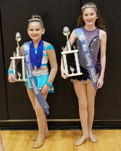 What a day!!!! Olivia and Lily win big!