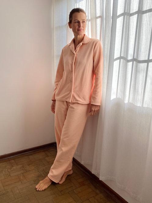 Pijama Microsof Pêssego