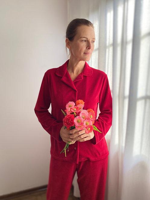 Pijama Plush Vermelho