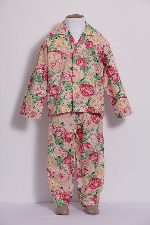 Pijama Infantil rosas