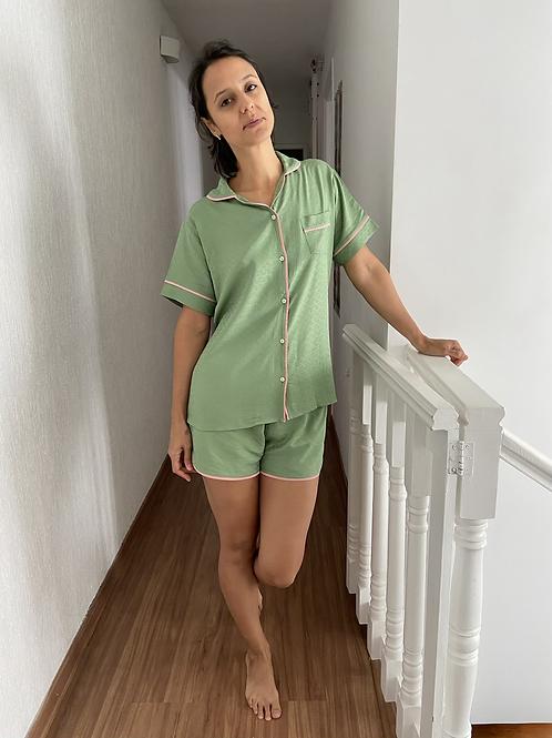 Pijama Zazá verde