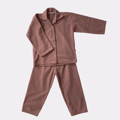 Pijama Infantil microsoft Rosê