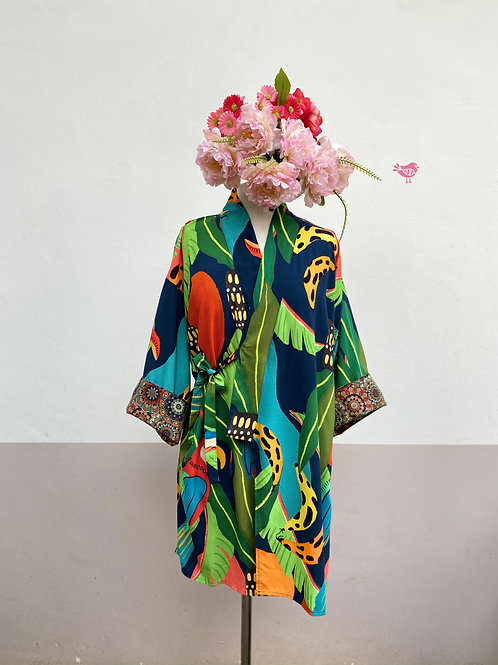 Kimono Tokyo médio Floresta Tropical