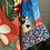 Thumbnail: Kimono Tokyo médio Arara Azul Fundo Vermelho