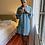 Thumbnail: Camisolão Zazá listrado azul