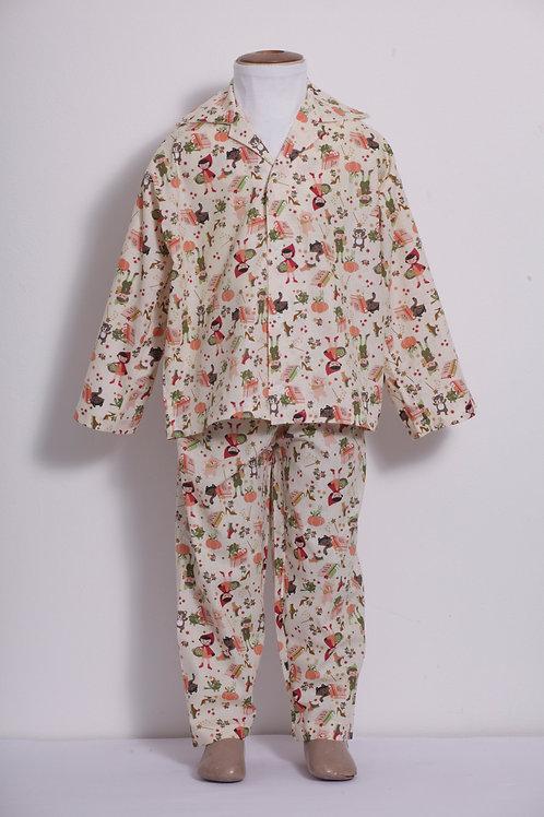 Pijama Infantil Chapeuzinho Vermelho
