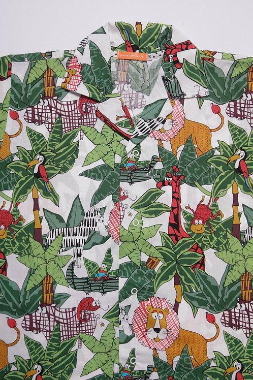 Pijama Infantil Selva