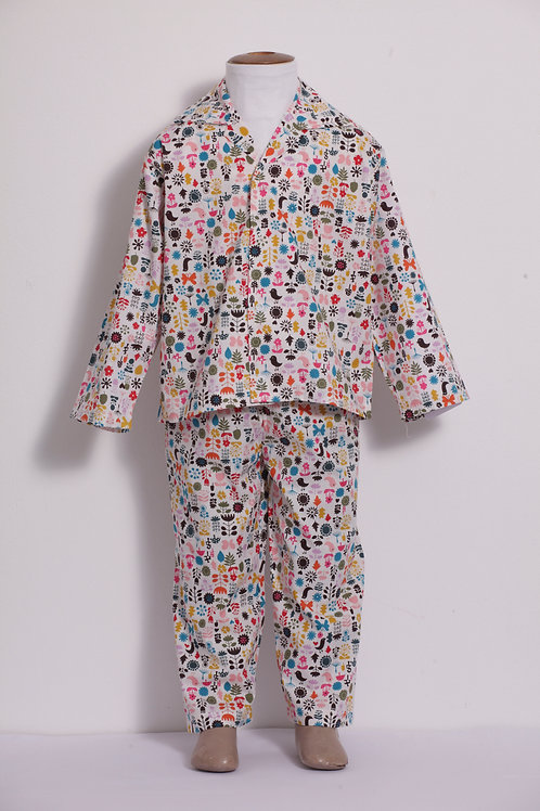 Pijama infantil Ícones