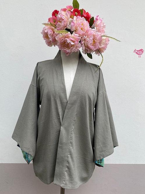 Kimono Kyoto curto linho Fendi