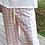 Thumbnail: Calça algodão  masculina Xadrez Vermelha e Bege