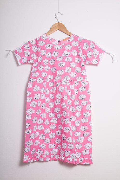 Camisolinha margaridas pink