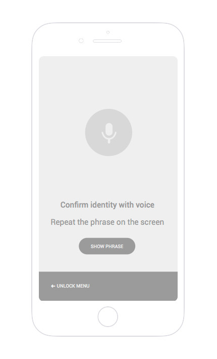 Get ready to voice recognition