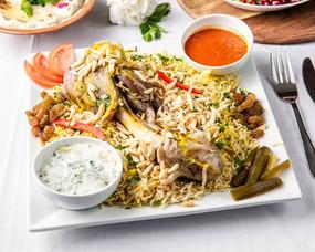 Lamb Shank With Basmati Rice