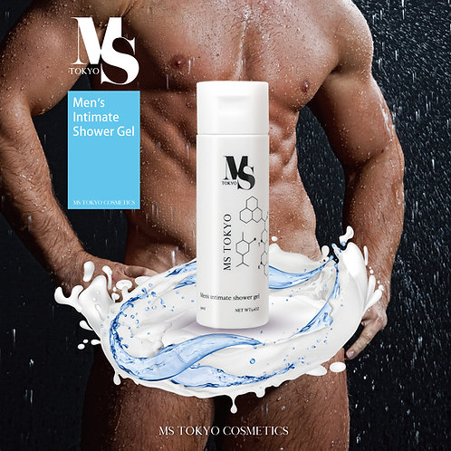 Men's intimate shower gel