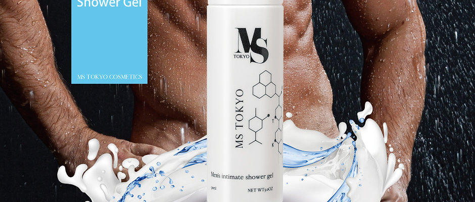 Men's intimate shower gel