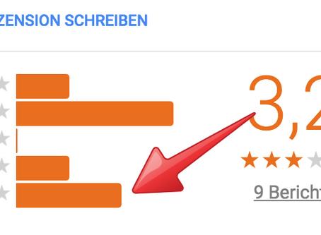 Ihr Unternehmen lebt von positiven Google Bewertungen