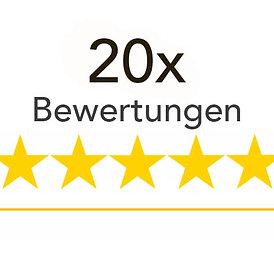 20x Google Bewertungen kaufen (INKL. USt)