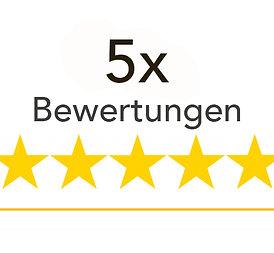 5x Google Bewertungen kaufen (INKL. USt)