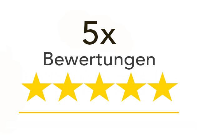 5x Google Bewertungen bei uns kaufen: