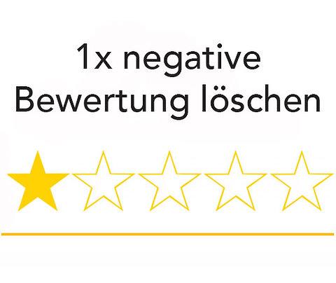 1x Google Bewertung löschen (INKL. USt)