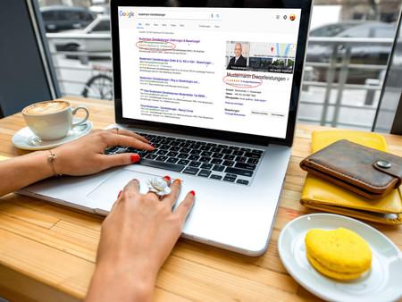 Kundenzufriedenheit auf Google zeigen