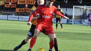 Match Report vs    Cray Wanderers