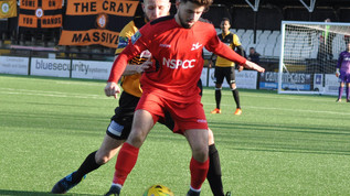 Match Report vs    Cray Wanderers