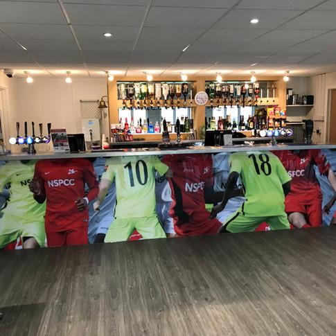 Matchday bar
