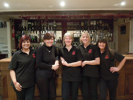 Robins Nest Function Room Staff