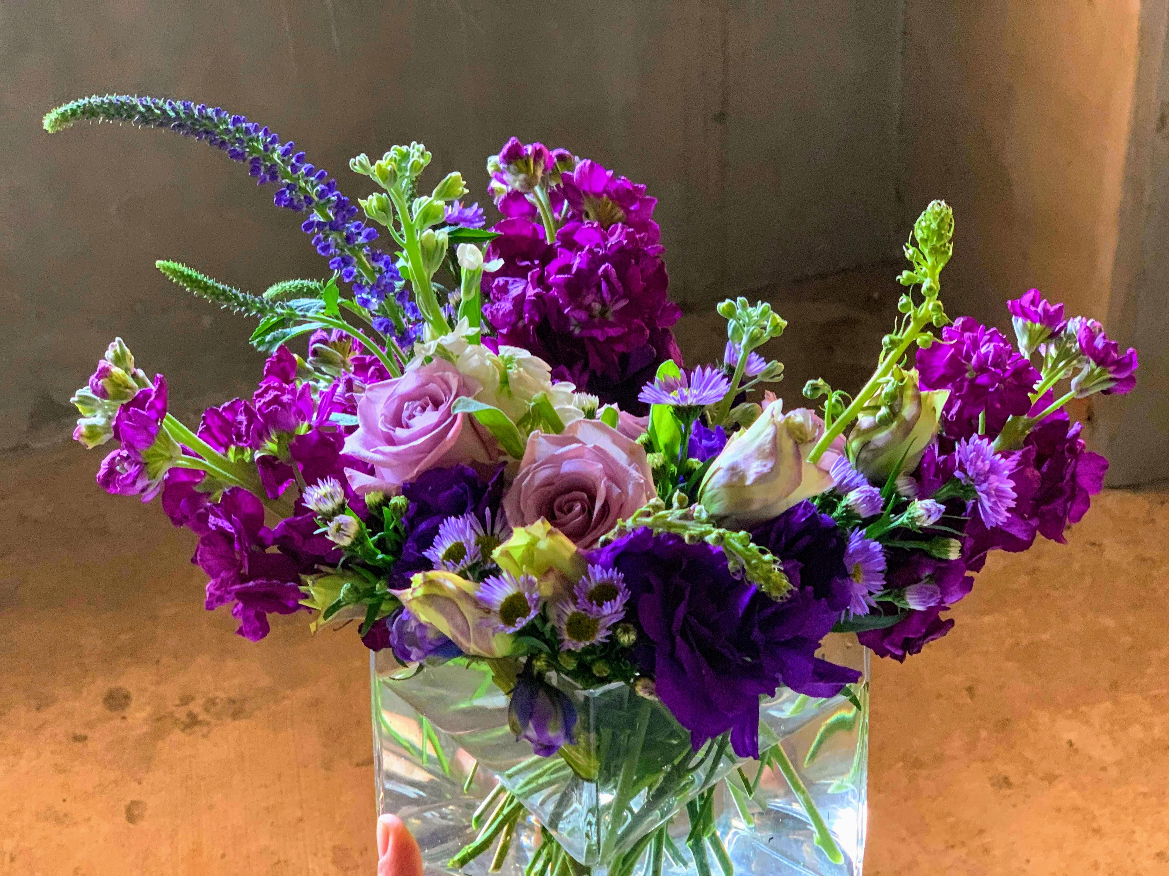 Wild Purple Table Topper