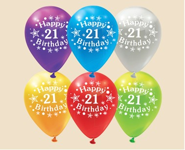 21st baloons