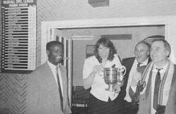 Celebrating London Challenge Cup