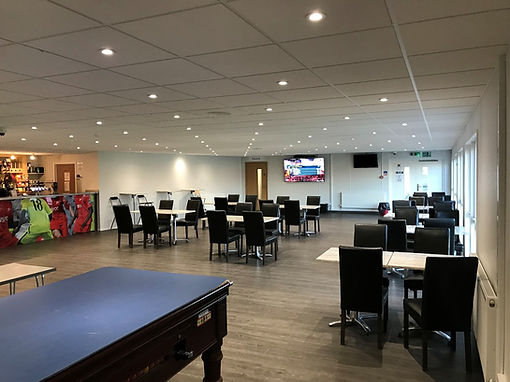 Clubhouse - pool table end