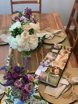 Surprise anniversary florals