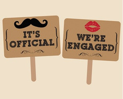 engaged signs
