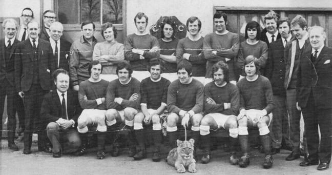 CAFC Team 1972-73
