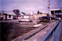 reconstruction after arson in 2000