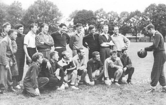 CAFC Team 1955-56