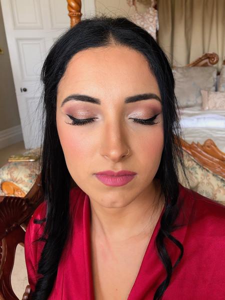 Nina Bridal Makeup and Hair