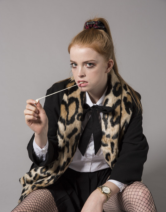 Hair & Makeup - Hazel Joanna Stylisyt - Anaelle Claudet Photographer - Chiara Ceci Model  - Lola